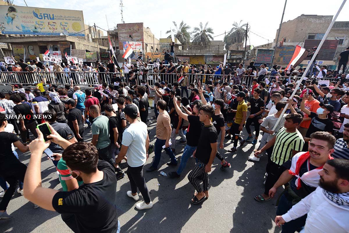 إصابة عنصر أمني بإطلاق نار قرب جسر السنك ببغداد