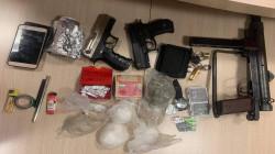 أربيل.. الإطاحة بمتهمين اثنين بحوزتهما مخدرات وأسلحة