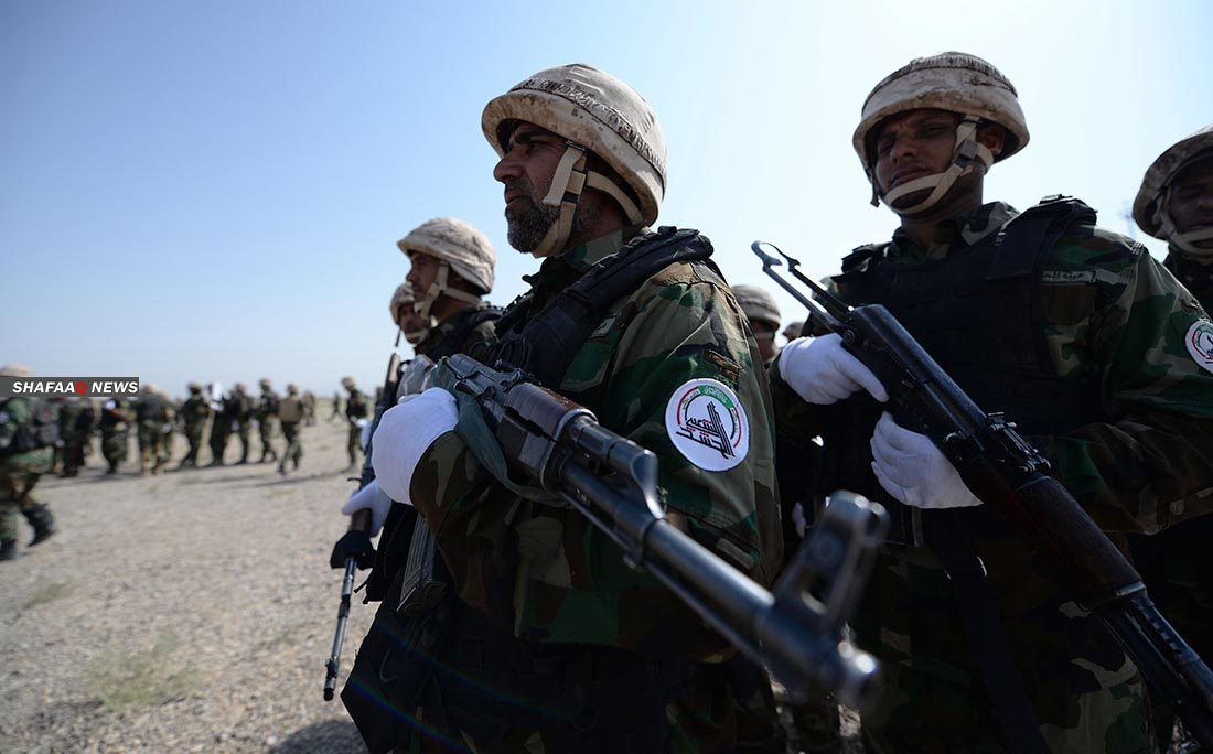 Two PMF members were injured in an ISIS attack in KHANAQIN