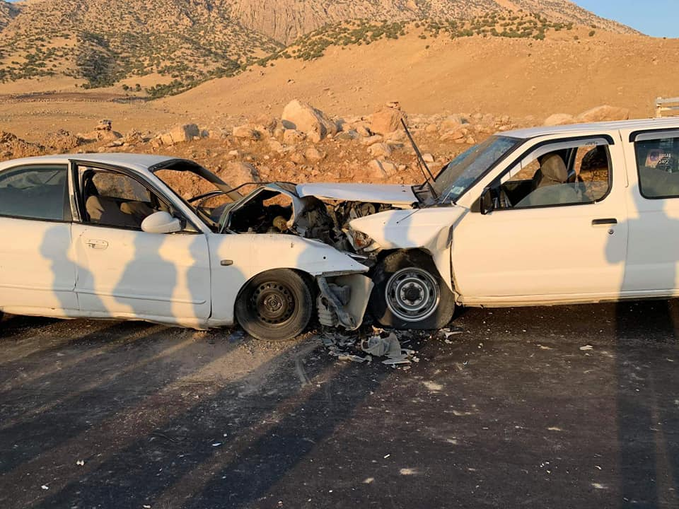 صور .. تسعة جرحى بحادث مروع في السليمانية