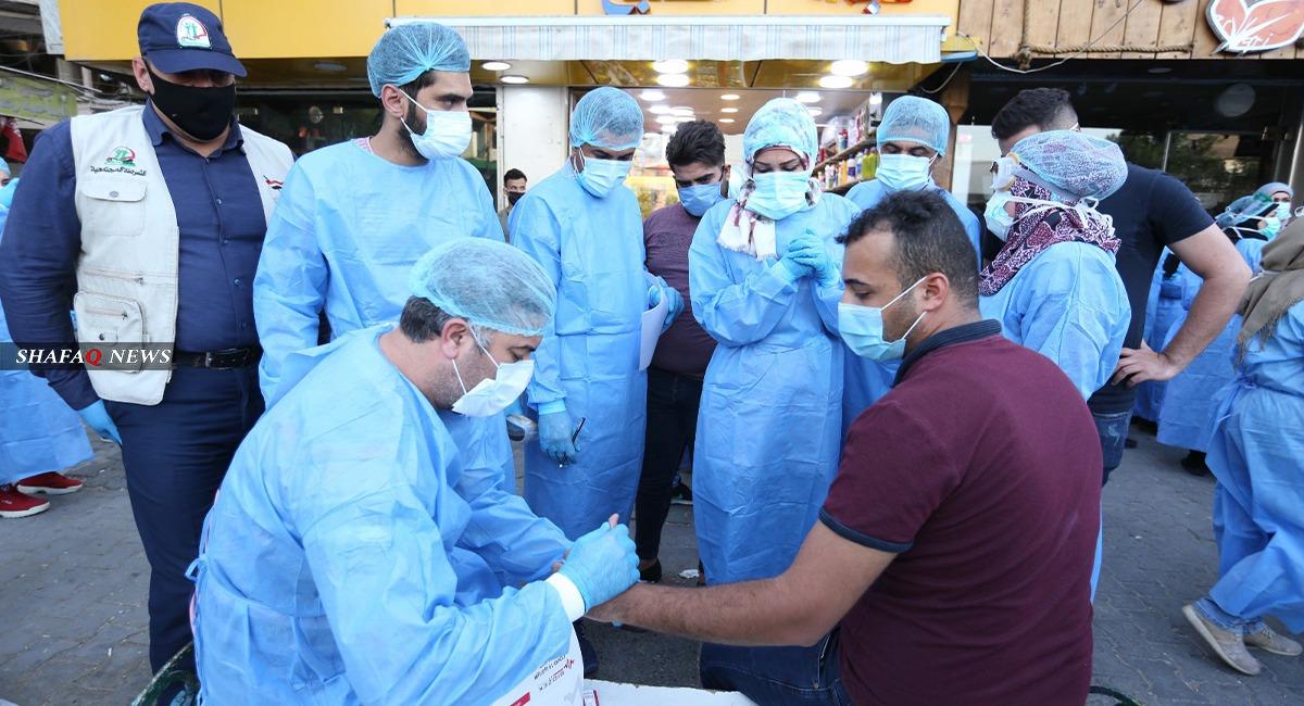 كورونا العراق.. 3701 إصابة جديدة خلال يوم وتعافي 2971