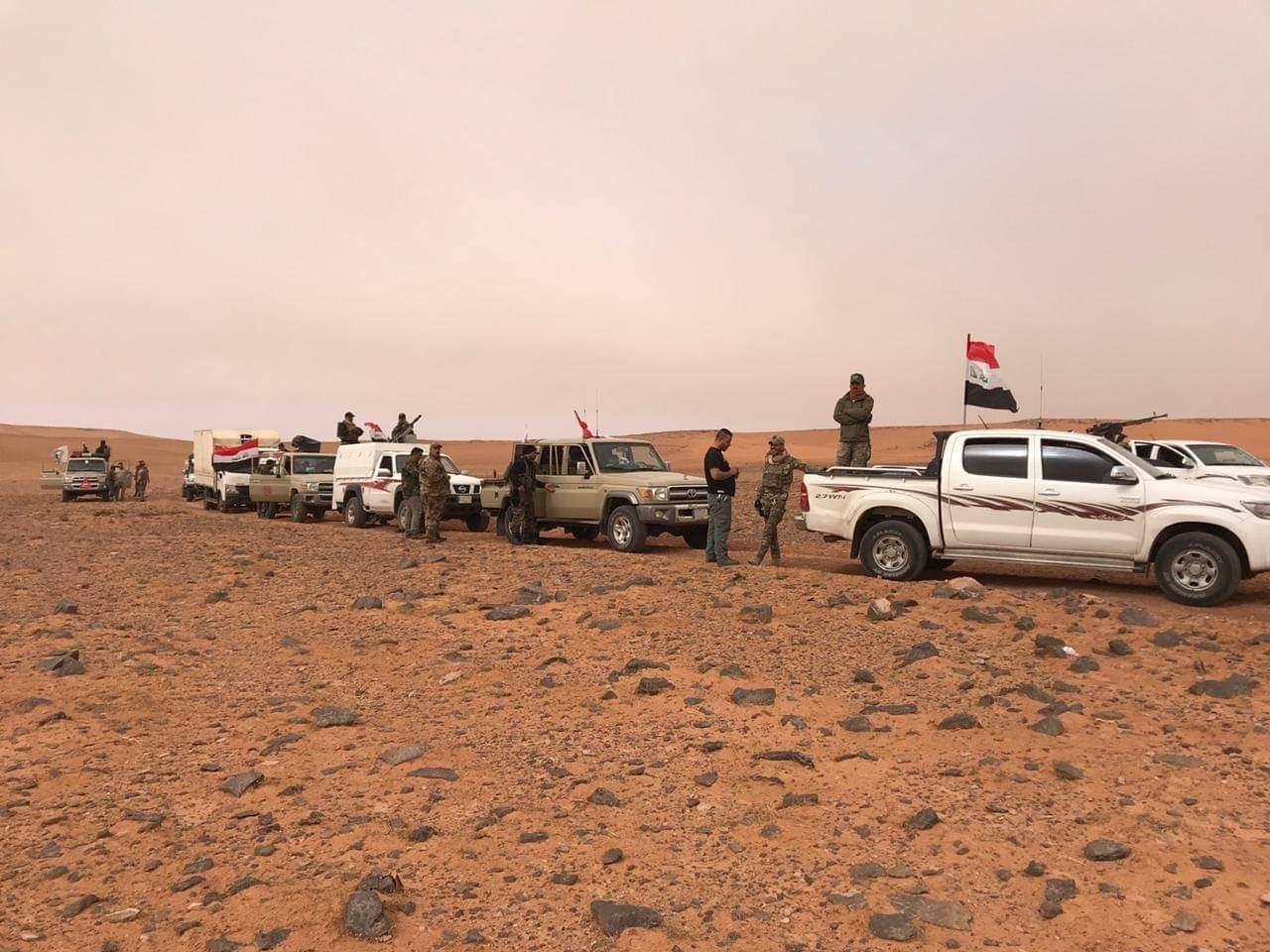 PMF destroys supplies of an ISIS gang in western Al-Anbar