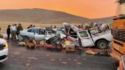 السليمانية.. حادث سير مروّع يخلف ضحايا بينهم 3 من عائلة واحدة