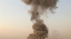 Explosion hits a military facility in Baghdad