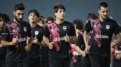 Iraq national football team holds its first training session during the outbreak of COVID-19