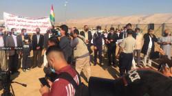 مظاهرات تطالب بتنفيذ إتفاق سنجار وإنهاء سطوة الـPKK