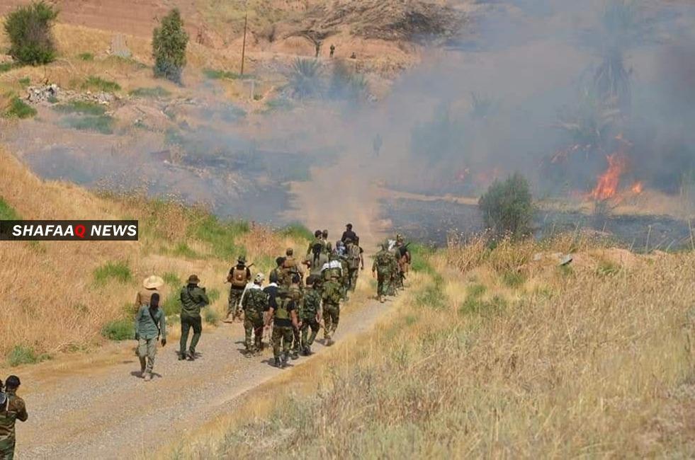 مرصد: مقتل 4 عناصر بالحشد الشعبي أثناء عبورهم لسوريا