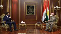 KDP 'Barzani receives the Kisnazi way leader
