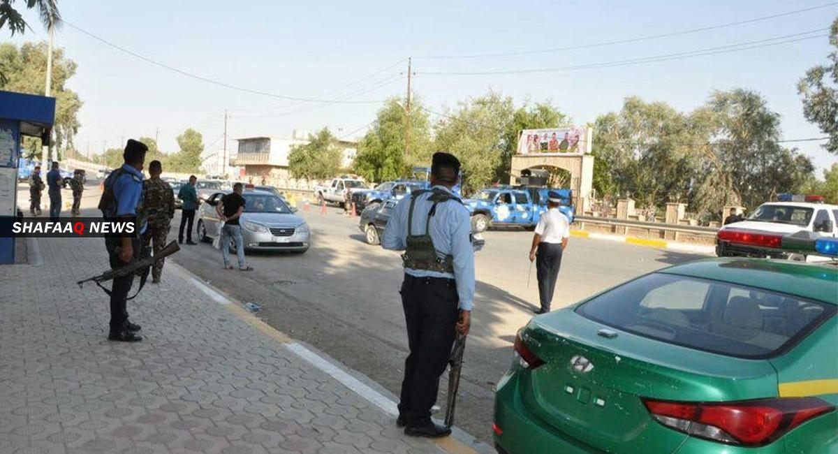 A policeman injured in an ISIS attack in Diyala