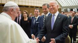 بابا الفاتيكان يهنئ بايدن بفوزه