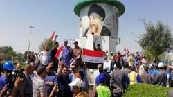 إعادة فتح وإزالة خيام معتصمين من معقل تظاهرات النجف