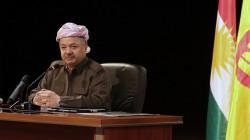 Masoud Barzani congratulates the New Baba Sheikh for assuming his position