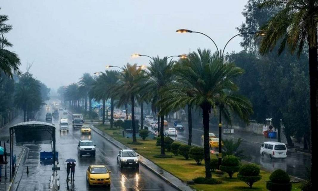 العراق على موعد مع موجة جديدة من هطول الامطار والثلوج