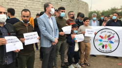 تظاهرات في كركوك بسبب تكدس النفايات.. صور
