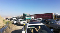 Peshmerga forces demonstrations block Al-Sulaymaniyah-Erbil road
