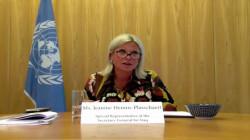 Briefing by SRSG Jeanine Hennis-Plasschaert at the UN Security Council