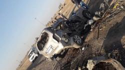 """""""طريق الموت"""" جنوبي العراق ينهي حياة خمسة أشخاص بحادث مروع"""