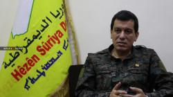 """قائد """"قسد"""" يدين قصف أربيل: افعال لزعزعة استقرار اقليم كوردستان"""