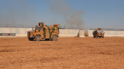 a joint patrols of Russia and Turkey in northeast Syria