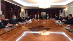 رئاسة الإقليم ترعى اجتماعاً لأحزاب كوردستان الرئيسية الثلاثة