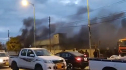 Demonstrators set fire to the PUK and KDP headquarters