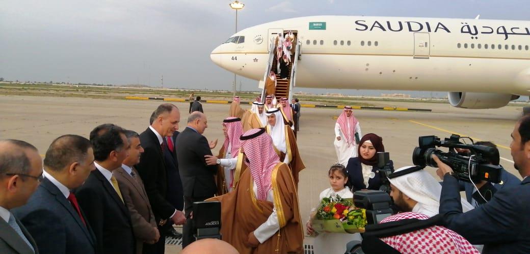 A high-level Saudi delegation arrives in Baghdad tomorrow 1607274697417