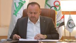 """سرمد عبد الاله يتهم رعد حمودي بـ""""المماطلة"""" في إجراء انتخابات الاولمبية"""