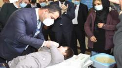 بنجاح.. انتهاء حملة التلقيح ضد شلل الاطفال في إقليم كوردستان