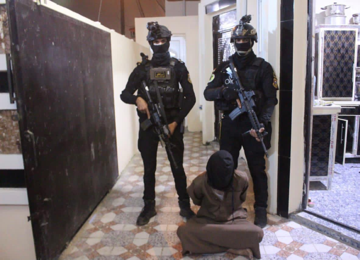 CTS arrests a high-level leader of ISIS