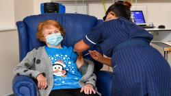 انطلاق أولى عمليات التلقيح ضد فيروس كورونا في بريطانيا
