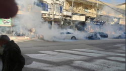 A curfew in Al-Sulaymaniyah and Halabja