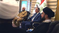 بعد عقوبات الفياض وابو فدك.. الكاظمي يزور هيئة الحشد الشعبي ويلتقي قادتها