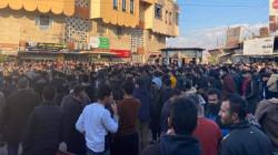 Protests resurge in Halabja, Garmyan and Raperin