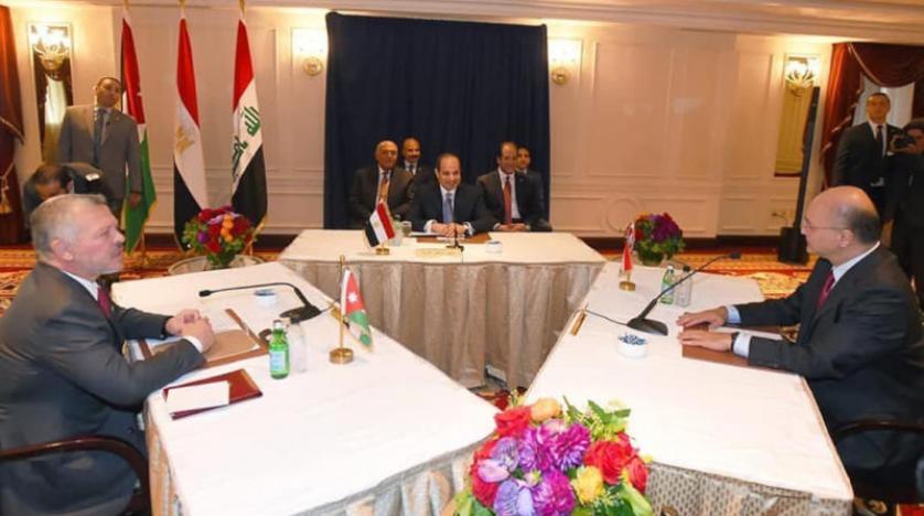 """بغداد تحتضن """"قمة"""" لرؤساء العراق ومصر والأردن العام المقبل"""