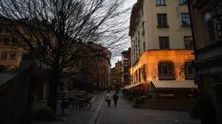 ستوكهولم لم تر الشمس منذ بداية ديسمبر..