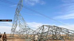 """اتهامات لجهتين """"تعتاش"""" على انقطاع الكهرباء باستهداف أبراج الطاقة العراقية"""