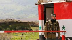 Syrian Patrol in Deir Ez-Zor Badia region