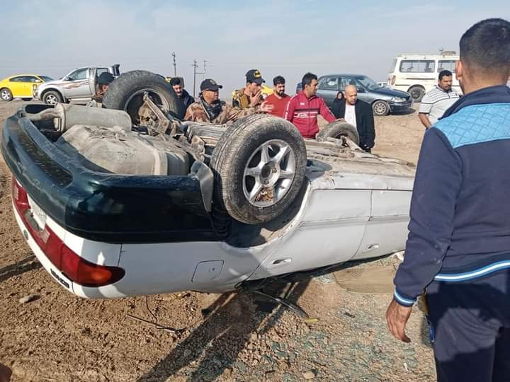 مصرع مدني بحادث سير في ديالى