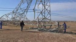 استهداف برج لنقل الطاقة الكهربائية غربي الأنبار