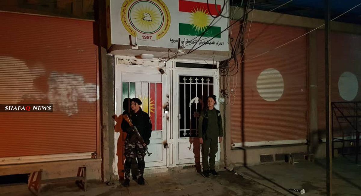 إجراءات خاصة للاسايش لحماية مقرات المجلس الكوردي في مناطق الإدارة الذاتية
