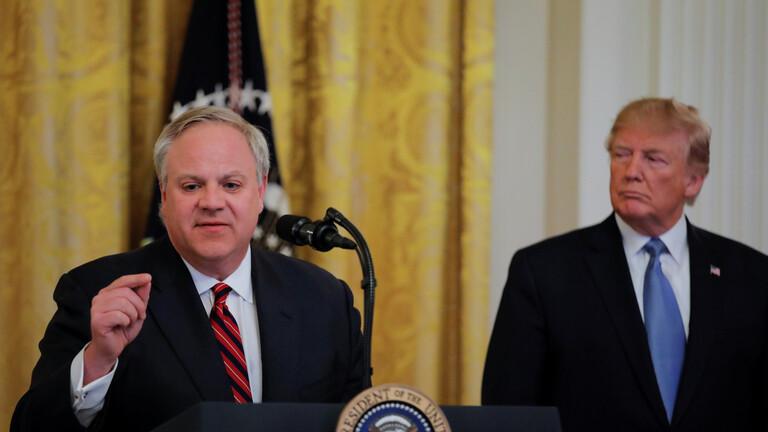 U.S. Interior Secretary Bernhardt Tests Positive for COVID-19