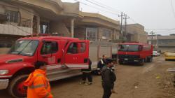 وفاة طفلة باحتراق منزل في ديالى