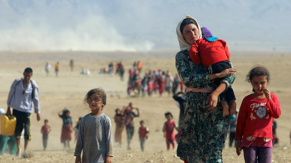 The number of Yazidi abductees reached 6417, official source says