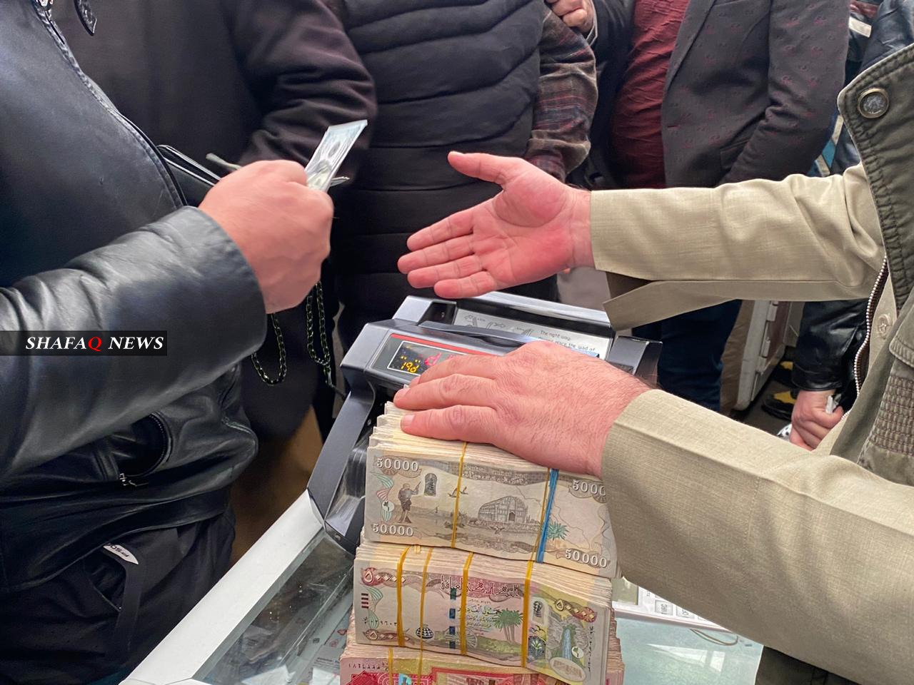 The Central Bank of Iraq sales of hard currency decreased by more than 20 percent