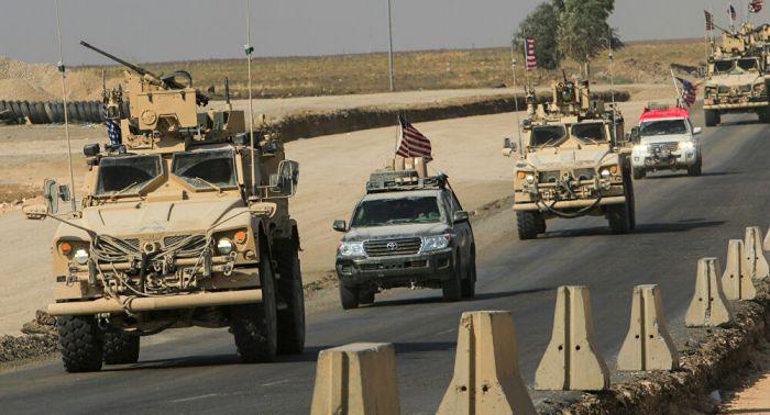 وقوع أضرار بهجوم استهدف رتلاً للتحالف الدولي في بغداد