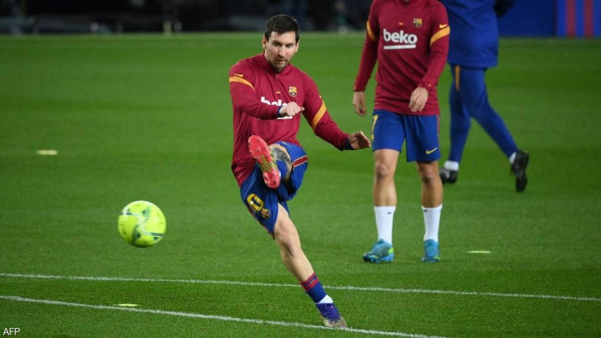 تصريح مفاجئ لميسي يحسم مصيره مع برشلونة
