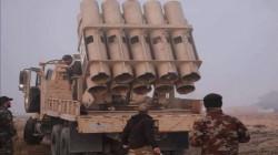 الحشد يقتل تجمعاً لداعش بقصف صاروخي شمالي سامراء