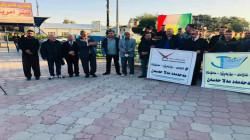 خانقين.. وقفة احتجاجية للمطالبة بإطلاق سراح مسؤول محلي مسجون في السليمانية