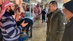 إحباط محاولة لتصريف طن من اللحوم الفاسدة في سوق باربيل