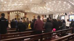 صور.. حضور محدود في قداس عيد الميلاد الوحيد بالموصل